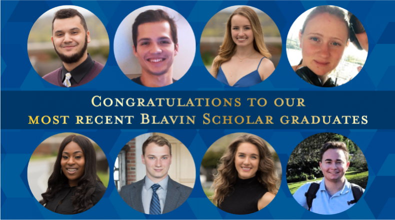 Congrats to our most recent Blavin Scholar graduates!
